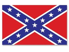 "Rebel (Confederate) Flag Sticker by Sticker Beast. $3.99. Size: 3""high x 5""wide (76mm x 128mm)"
