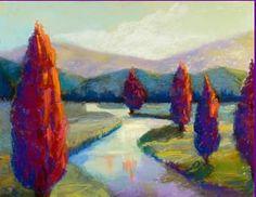 Red Poplars