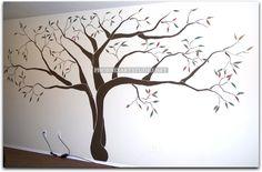 Killeen Family Tree Wall Mural   by Phoenix Art Studio
