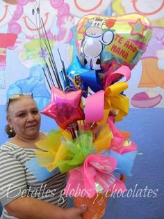 A big balloons Bouquet for Mother´s Day
