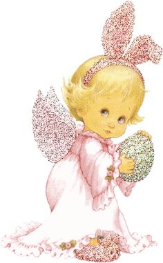 Christian Easter Glitter Graphics for MySpace. Betty Boop, Happy Easter, Easter Bunny, Cute Easter Pictures, Christmas Embroidery Patterns, I Believe In Angels, Easter Religious, 1 Gif, Angel Pictures