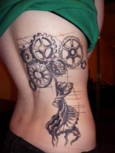 #steampunk #tattoo
