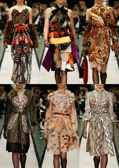 Paris Fashion Week – Autumn/Winter 2014/2015 – Print Highlights – Part 2 catwalks Givenchy