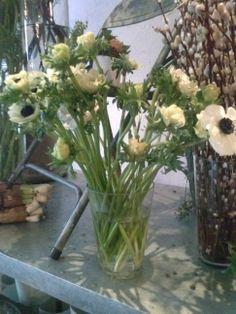 Snittet blomster Glass Vase, Plants, Home Decor, Decoration Home, Room Decor, Plant, Home Interior Design, Planets, Home Decoration
