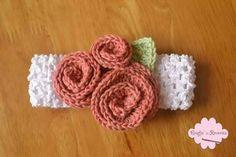 Crochet baby hedband