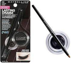 AnaBeautyDark: Novedades en PTY - Maybelline FIT ME , Eye Studio Lasting Drama gel eyeliner