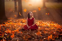 Autumn Prelude by Jake Olson - Children Photography by Jake Olson  <3 <3