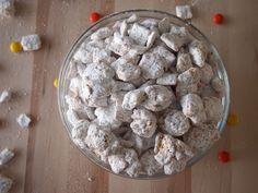 Triple Peanut Butter Puppy Chow @Laura Dembowski