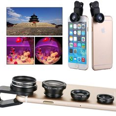 Selfie Camera Mobile Cell Phone Lens CPL For iPhone Galaxy S3 S4 S5 S6 DC586