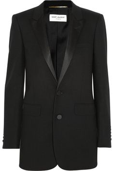 With a Saint Laurent tuxedo - That's Not My Age