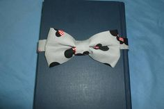 Items similar to minnie mouse heads bow tie with 5 inch bow and adjustable hooked bow tie. on Etsy Grey Bow Tie, Toddler Bow Ties, Minnie Mouse Bow, Bows, Trending Outfits, Unique Jewelry, Handmade Gifts, Youth, Accessories