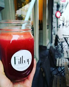 Try our Heartbeet juice! It's filled with: ginger, beet, apple and carrot.  #juice #heartbeet #fithap #ghent