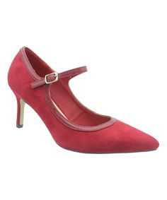 Red Paris Pump