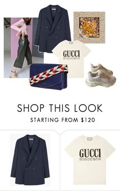 """Girls"" by lailamur on Polyvore featuring мода, MANGO, Gucci и Balenciaga"