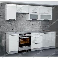 Kuchynská linka ANGEL 240 Kitchen Cabinets, Kitchen Appliances, Angles, Oven, Home Decor, Diy Kitchen Appliances, Home Appliances, Decoration Home, Room Decor
