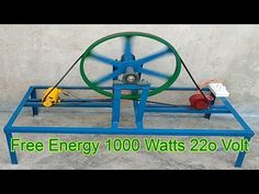 Alternative Power Sources, Alternative Energy, Magnetic Power Generator, Electrical Projects, Electrical Engineering, Electrical Wiring, Wooden Pallet Crafts, Energy Projects, Solar Power System