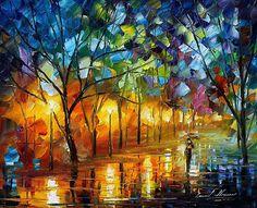 Leonid Afremov 'The Gift Of Night'