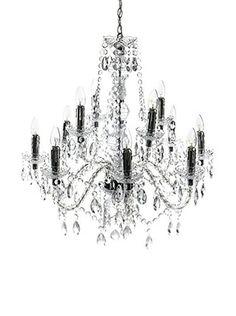 Contemporary Living Lampadario Jewel Trasparente diametro 80 x H.79 cm