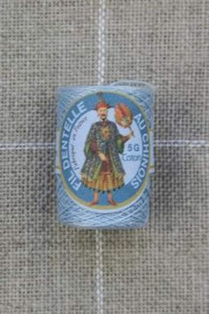 Farbiges Klöppelgarn Cocon Calais Nr. 6705 eisblau