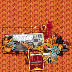 Oct 2015 SSD Bingo Challenge: pumpkin everything Layered cards: October templates by Cindy Schneider Spooktacular kit by Brook Magee & Studio Basic Designs Spooktacular miscellany by Brook Magee & Studio Basic Designs