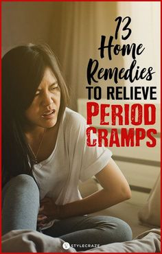 Period cramps are caused due to the contraction & relaxation of the uterine muscles during the menstrual cycle. Checkout the remedies for period cramps. Period Cramp Remedies, Period Cramp Relief, Remedies For Menstrual Cramps, Pain Relief, Relieve Period Cramps, Period Hacks, Period Tips, Natural Home Remedies, Women's Health