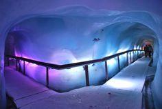 Ice Caves inside Mount Titlis - Switzerland