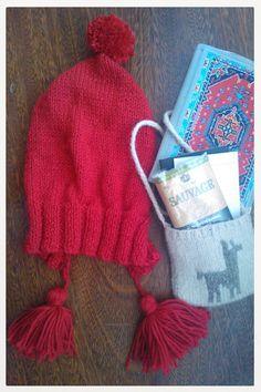 Handmade wool coya hat