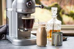 Use your Nespresso® by KitchenAid® for Homemade Irish Cream from @wanderlustkitch on our blog.