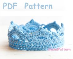 Looking for your next project? You're going to love Crochet Baby Crown Pattern promo by designer SashaPatterns.