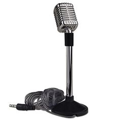 Vintage Style Noise Cancelling Microphone for PC $3.99