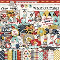 Dad, You're My Hero by Jady Day Studio and Meghan Mullens