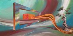 "Saatchi Online Artist Eka Peradze; Painting, ""Eka Peradze. 3D Painting.Recently Sold N39. "" #art"