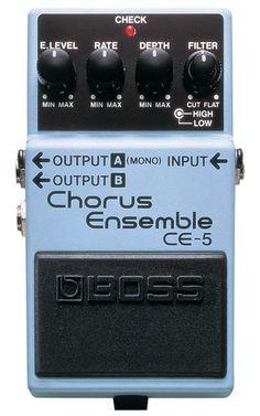 Boss - CE-5 - Van De Moer Instruments