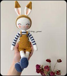Educational and interesting ideas about amigurumi, crochet tutorials are here. Crochet Rabbit Free Pattern, Doll Amigurumi Free Pattern, Crochet Animal Amigurumi, Crochet Baby Toys, Crochet Amigurumi Free Patterns, Easter Crochet, Crochet Animal Patterns, Cute Crochet, Easy Crochet Animals
