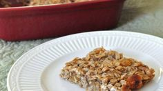 Oatmeal Banana Breakfast Bars Recipe