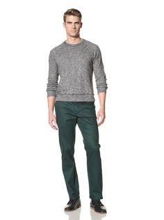 76% OFF Timo Weiland Men\'s Crew Neck Sweatshirt (Black)