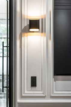 Wall lighting on point with our Trapz. Wall Lights, Classic Home Decor, Home Remodel Costs, Entryway Decor, Cheap Home Decor, Home Decor, Architectural Lighting Fixtures, Home Interior Design, Wall Design