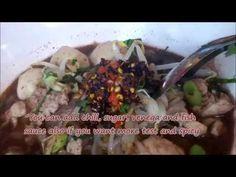 Boat noodle for lunch in Thailand : ก๋วยเตี๋ยวเรืออร่อยๆ ถนนราชดำเนินใน