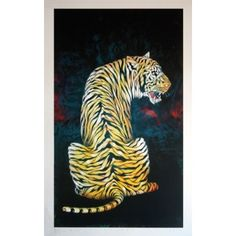 Cry of the Tiger By Osch aka Otto Schade: Category: Art Currency: GBP Price: GBP140.00 Retail Price: 140.00 'Cry Of The Tiger' is a…