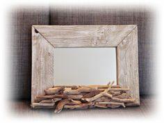 Specchio *ALISJA* con legni di mare di Tendance nature su DaWanda.com