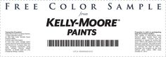 Pinned September 18th: Free #Sample: Paint #coupon via The #Coupons App