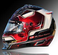 Motorcycle Helmet Design, Cool Motorcycle Helmets, Racing Helmets, Cool Motorcycles, Sports Helmet, Football Helmets, Skull Helmet, Helmet Paint, Custom Airbrushing