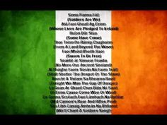 The National Anthem Of The Republic Of Ireland - Amhrán Na Bhfiann (A Soldier's Song)