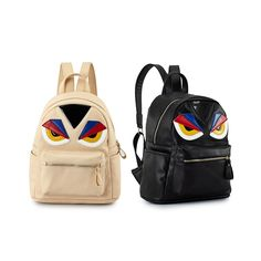 32.19$  Buy now - https://alitems.com/g/1e8d114494b01f4c715516525dc3e8/?i=5&ulp=https%3A%2F%2Fwww.aliexpress.com%2Fitem%2FMonster-Eyes-Mini-Women-Backpack-Hot-Fashion-Yellow-Eye-Micro-Bag-Rucksack%2F32690359820.html - 2016 Famous Design New Brand Monster Eyes Mini Women High Quality Backpack Hot Fashion Yellow Eye Micro Bag 32.19$