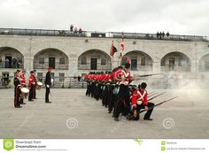 Kingston Ontario Canada Fort Henry Guard