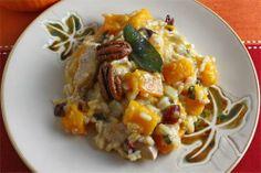 Turkey and Squash Thanksgiving Risotto