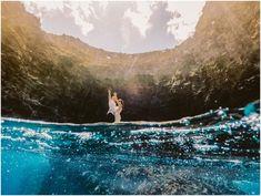 Karma + Weston | Open Ceiling Cave Elopement | Kauai Wedding Photographer | Enchanted Elopements | Meg Bradyhouse Photography Destination Wedding Locations, Destination Wedding Photographer, Open Ceiling, Kauai Wedding, Kauai Hawaii, Adventure Photography, Elopements, Beautiful Islands, Karma
