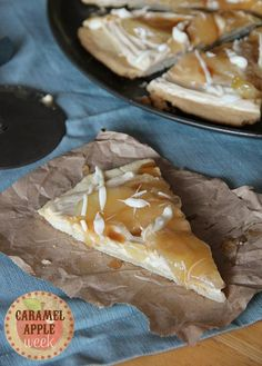 Sugar cookie apple pizza recipe