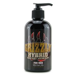 BedroomJungle - Grizzly Hybrid Lube 9.5oz, $25.20 (http://www.bedroomjungle.com/grizzly-hybrid-lube-9-5oz/)