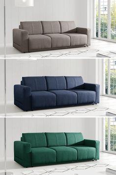 Prepracované línie a dokonalá výplň pohovky 🖤DERMAT🖤dodajú vášmu telu poriadne oddych. 😴  #pohovka #krajsidomov #peknydomov #nabytok #temponabytok Couch, Furniture, Home Decor, Homemade Home Decor, Sofa, Couches, Home Furnishings, Sofas, Sofa Beds